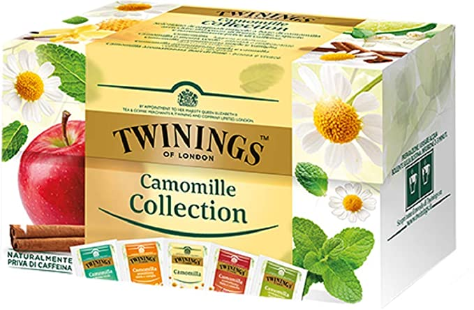 1 opinioni per Twinings Camomille- Camomille Collection- Collezione di Camomille di Originali