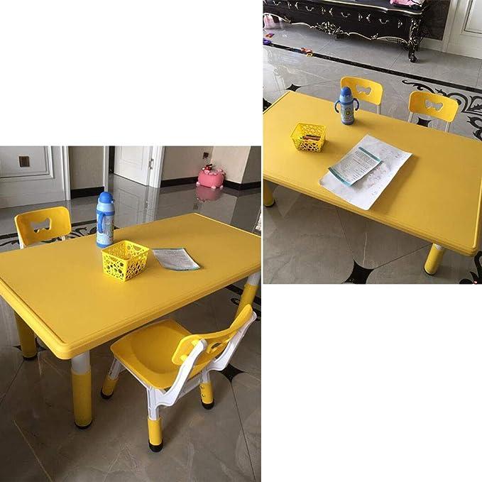 Mobili Per Camerette Sala Giochi Tavolino Rettangolari E Sedie Regolabili In Altezza Zh Tavolo E Sedia