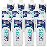 CloSYS Original Unflavored Mouthwash, Alcohol Free, 16 ounce (Pack of 12)