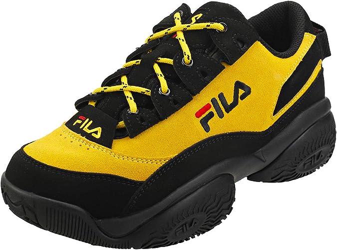 fila disruptor 2 premium suède jaune baskets femme