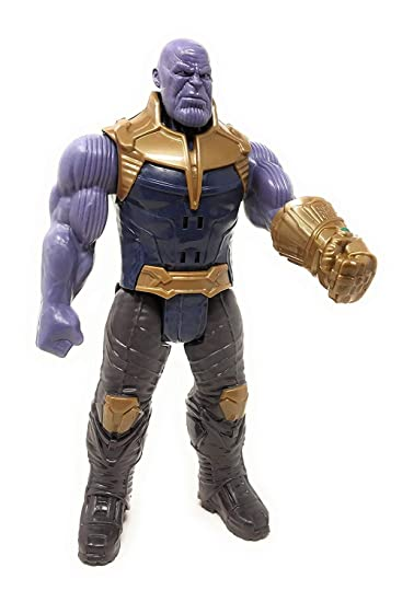 Thanos Avengers Infinite War Super Hero Action Figure Toy with Sound Effect  for Kids (29 cm)