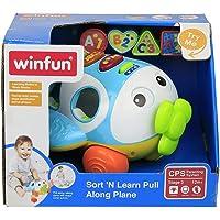 WinFun Sort 'N Learn Pull Along Plane