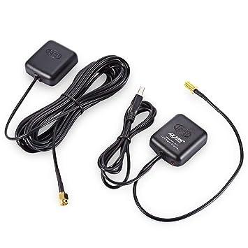 Cheyoule Antena GPS Navegador Amplificador Coche Señal Repetidor Receptor Transmisor
