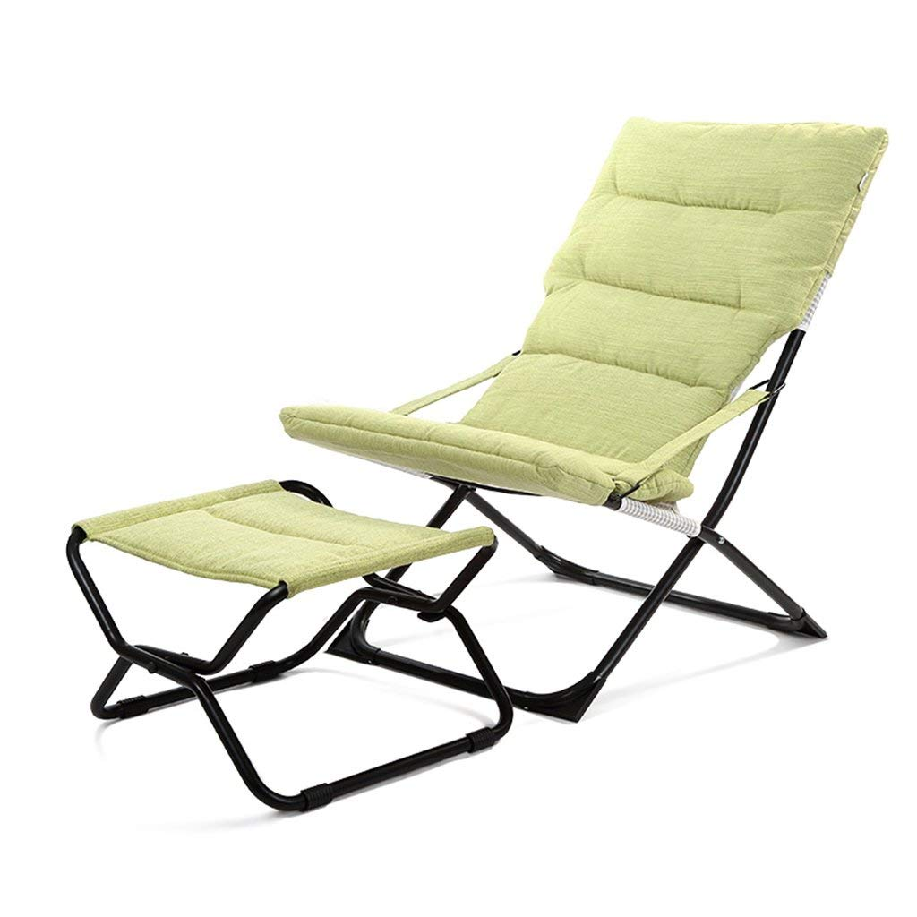 Mecedora, Silla plegable reclinables verdes Hora de la ...