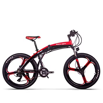 Rich Bit Bicicletta Elettrica Mountain Bike Mtb Pieghevole Freno A