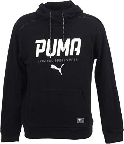 Puma Style Tec TR, Sweat pour Homme XXL Cotton Black: Amazon