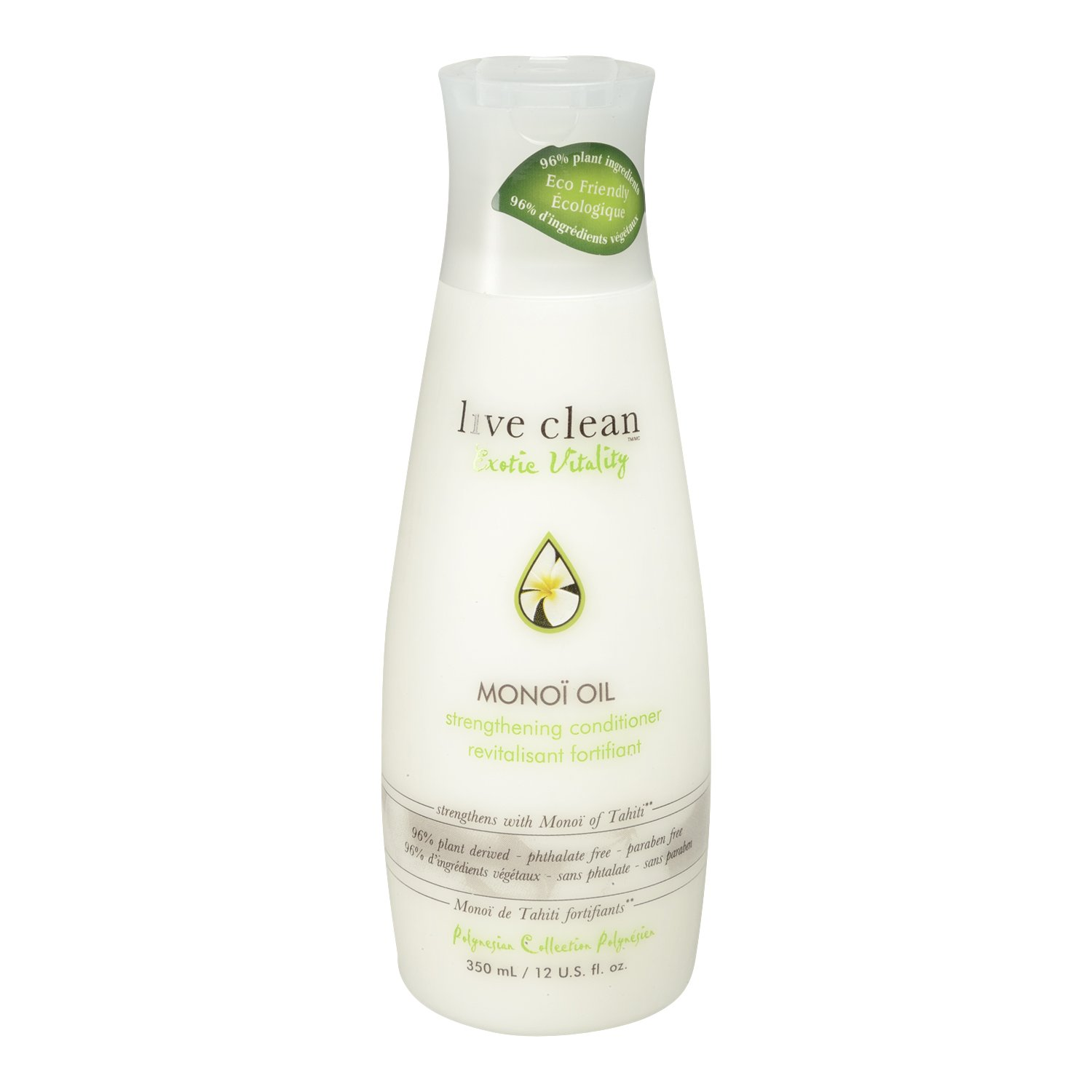 Live Clean Monoi Oil Exotic Vitality Strengthening Conditioner