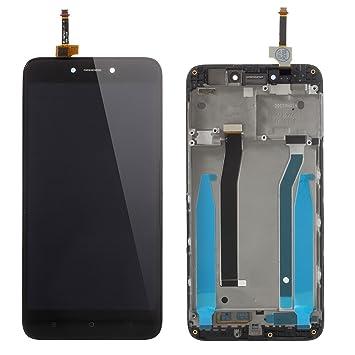 PANTALLA COMPLETA LCD + TACTIL + MARCO XIAOMI REDMI 4X NEGRO: Amazon.es: Electrónica