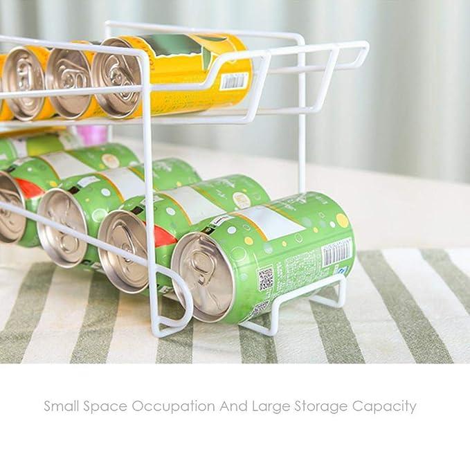 Chen0-super Beer dispensador de bebidas dispensador bandeja de almacenamiento soporte hogar cocina estante dispensador de bebidas contenedor refrigerador ...