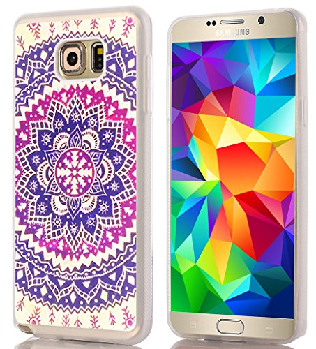 Note 5 Case / IWONE Designer TPU Rubber Durable Compatible Cover Shockproof Replacement For Samsung Galaxy Note 5 + Wonderful Floral Texture Print Design For Girls Women