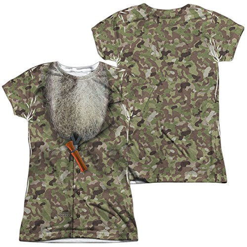 Duck Dynasty Camo Costume Women's Sublimated T Shirt