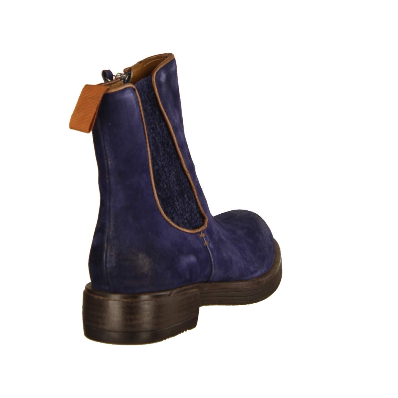 Onid Studio 12410 Blau (blau) - ungefütterte ungefütterte - Stiefelette- Damenschuhe modische Stiefelette, Blau, Leder, absatzhöhe  25 mm c31b04