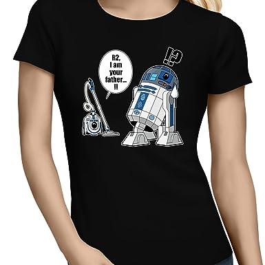 Parodie auf R2-D2 von Star Wars Damen T-shirt (382)