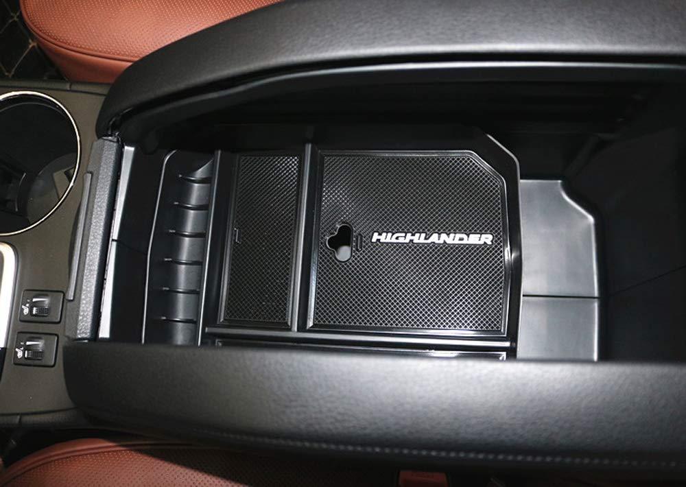 Salusy Car Center Console Armrest Box Glove Box Secondary Storage