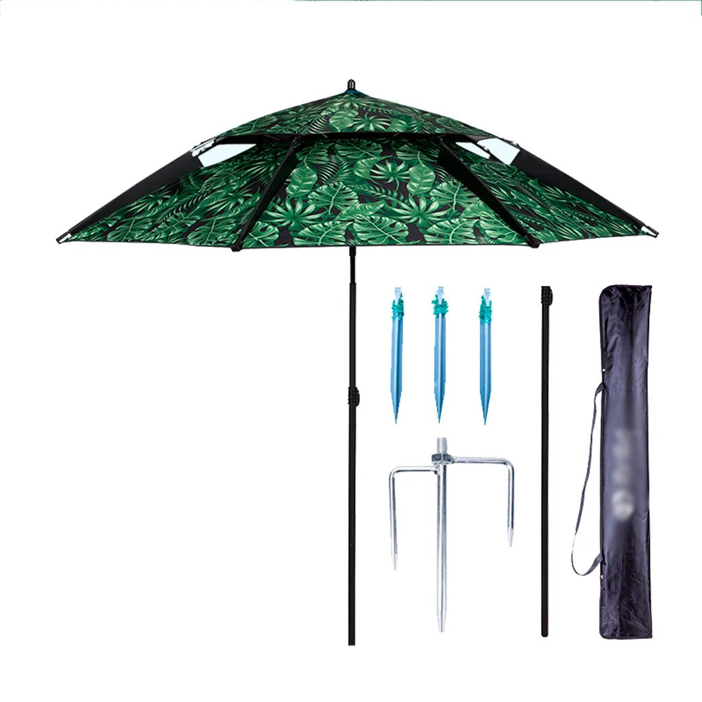 YS 屋外アンブレラ|釣り傘|傘|ユニバーサル|レインコート|アウトドア|折りたたみ|パラソル|サンシャス|釣り傘| yusan (サイズ さいず : 220cm) B07CZXVK8B 220cm 220cm