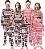 Rnxrbb Family Christmas Matching Pajamas Set Pjs Xmas Pyjamas Holiday Jammies Kids Boys Girls Sleepwear Stripes Pants,Women,L