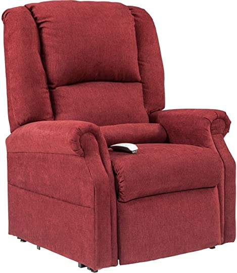 NM-101 Windermere Mega Motion Ultimate Power Lift Recliner Infinite Position Lay Flat and Zero Gravity Recliner. Duo Motors. Control Foot Rest Back Separately. Ext Length. 77 Burgungy