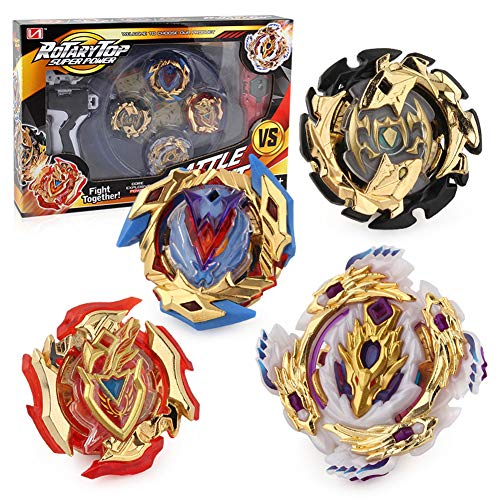 Burst 4D Set with Launcher and Arena Metal Fight Battle Fusion Classic Toys for Kids Birthday