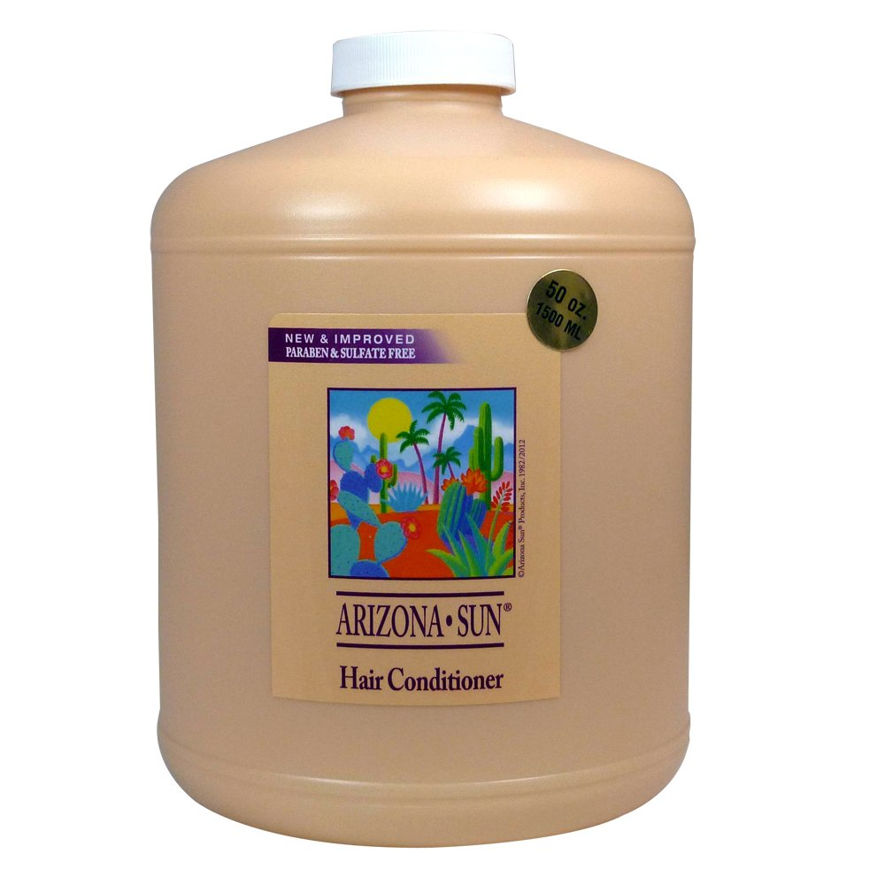 Arizona Sun Hair Conditioner - 50 oz - All Types of Hair - Natural Aloe Vera and Other Products - Deep Moisturizing For Soft Manageable Hair - Nourishes Dry Hair