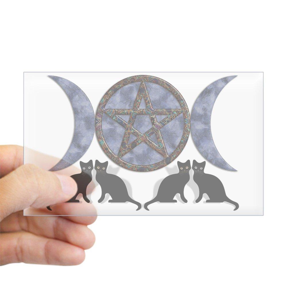 芸能人愛用 CafePress by Mystic Blue Pentagram Pentagram Rectangle Sticker Rectangle Sticker Rectangle - 3x5 Clear by CafePress B00VUSUTH0, ネットdeまつやま:47133616 --- mvd.ee