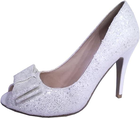 Ladies sequin high heels. Size 7 in