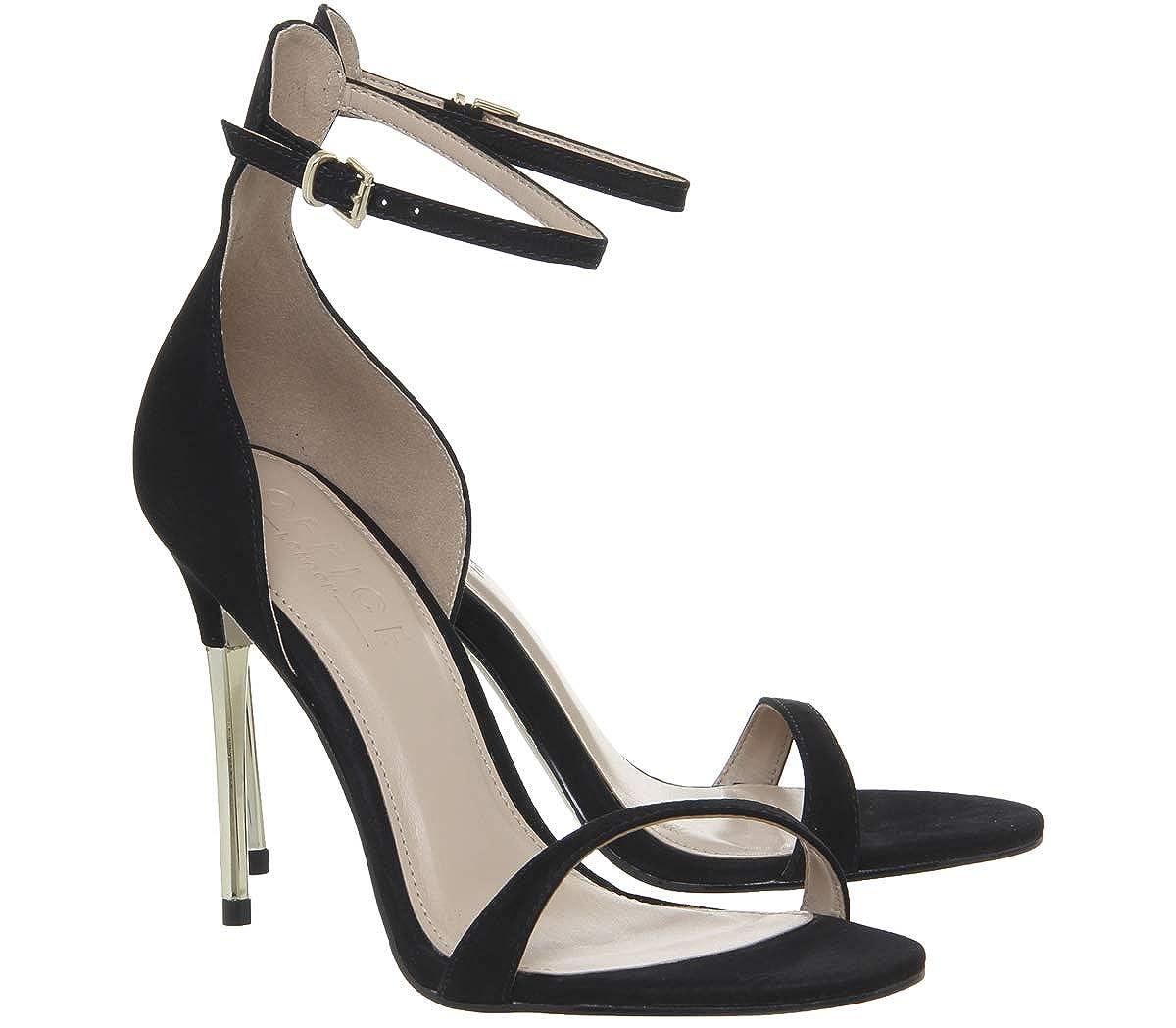 42ee479be43 Office Happy Metal Heel Sandals: Amazon.co.uk: Shoes & Bags