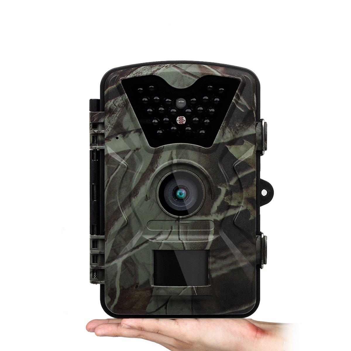 【超歓迎】 ワイルドアニマルトレイルカメラ12MP 1080P 1080P 940NMは、野生動物の写真やビデオを撮影するために使用されています2.31インチTFTスクリーントラッキング監視ハンティングカメラカモフラージュ B07DPLVH5M B07DPLVH5M, 伊佐郡:02850f62 --- by.specpricep.ru