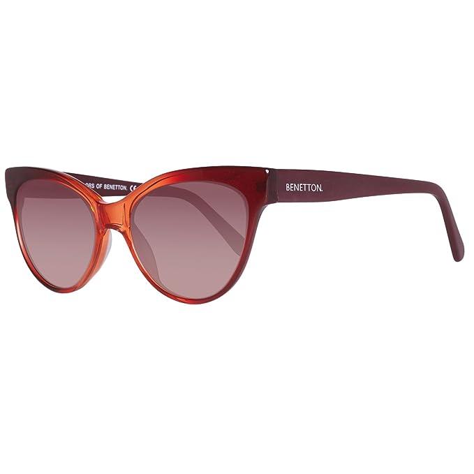 BENETTON BE998S04, Gafas de sol Unisex, Red 53: Amazon.es ...