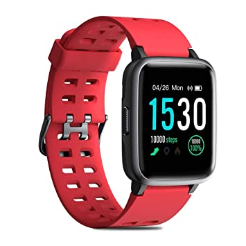 QKa Smartwatch, Fitness Wristband Impermeable IP68 Smart ...