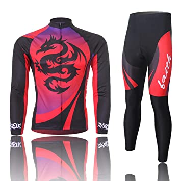 XiangYu Ropa Ciclismo Maillot Ciclismo Set Hombre Mujer ...