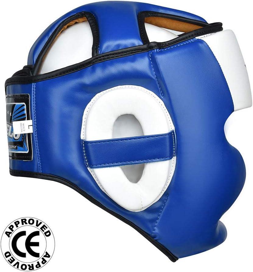 VELO Boxing Head Guard MMA Headguard Martial Arts Headgear Protection /& Training