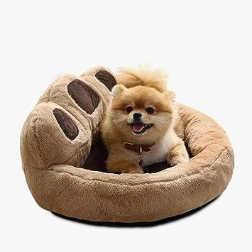 Weng wei shop Perrera Lavable Perro pequeño Four Seasons Universal Pet Bed Teddy Bomei Pet Nest Gamuza Acolchada para Gatos: Amazon.es: Hogar