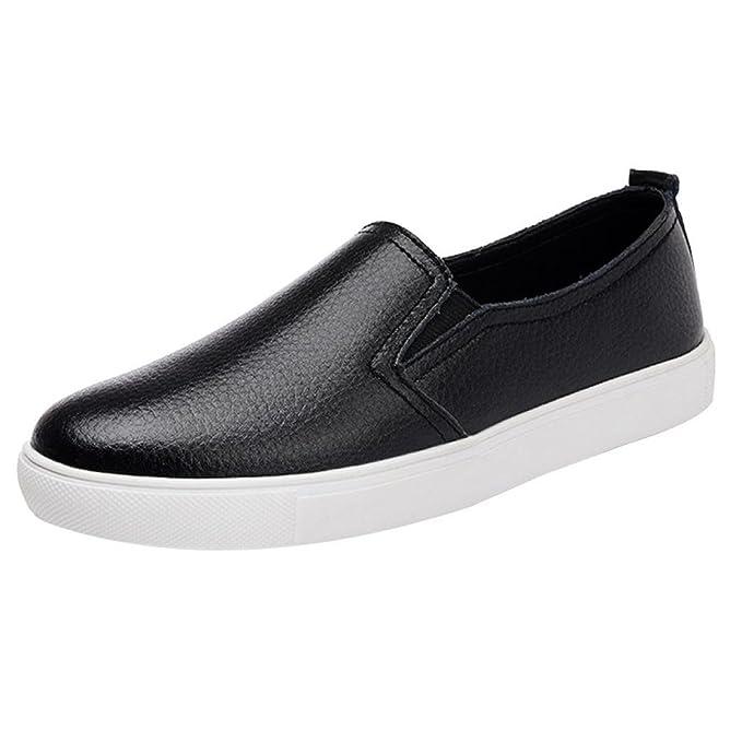 Zapatos para Mujer, 💕 RETUROM 2018 Zapatos Planos de Cuero de Las Mujeres Zapatos Mocasines Zapatos: Amazon.es: Ropa y accesorios