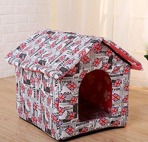 outlet in vendita BinSanDa Prodotti per Animali Moda Moda Moda Pieghevole Removibile e Lavabile Pet Nest casa Antipioggia  economico