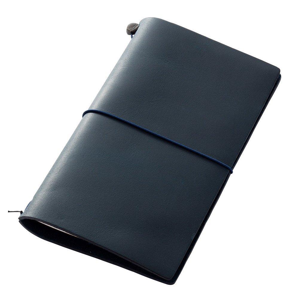 Midori Traveler's Notebook Blue Leather