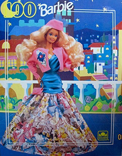 BARBIE 100 Piece PUZZLE - 'PRIVATE COLLECTION FASHION' #4957 (1991 GOLDEN)