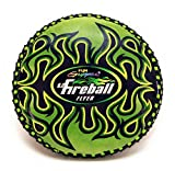 Fun Gripper FIREBALL NEON GREEN 9'' FLYER/FRISBEE (SOFT) GREAT FOR KIDS P.E. Supplier