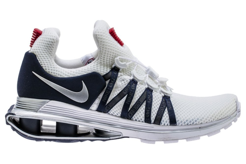 Galleon - Nike Shox Gravity Mens Running Shoes Ar1999-104 9 M US  White Metallic Silver-White-Obsidian 82aca6cb0