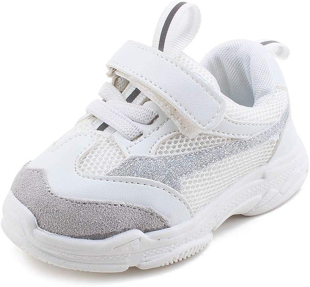 OOSAKU Baby Clunky Sneaker Boys Girls Athletic Running Walking Kid Infant Toddler Fashion Shoes