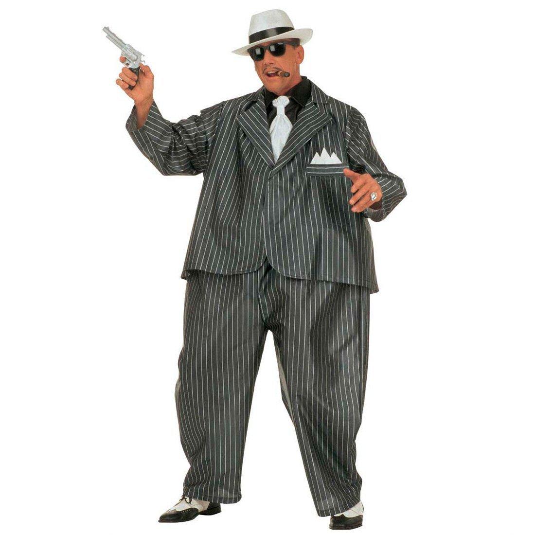NET TOYS Gangster Mafia Disfraz Gordo Jefe al Capone: Amazon ...