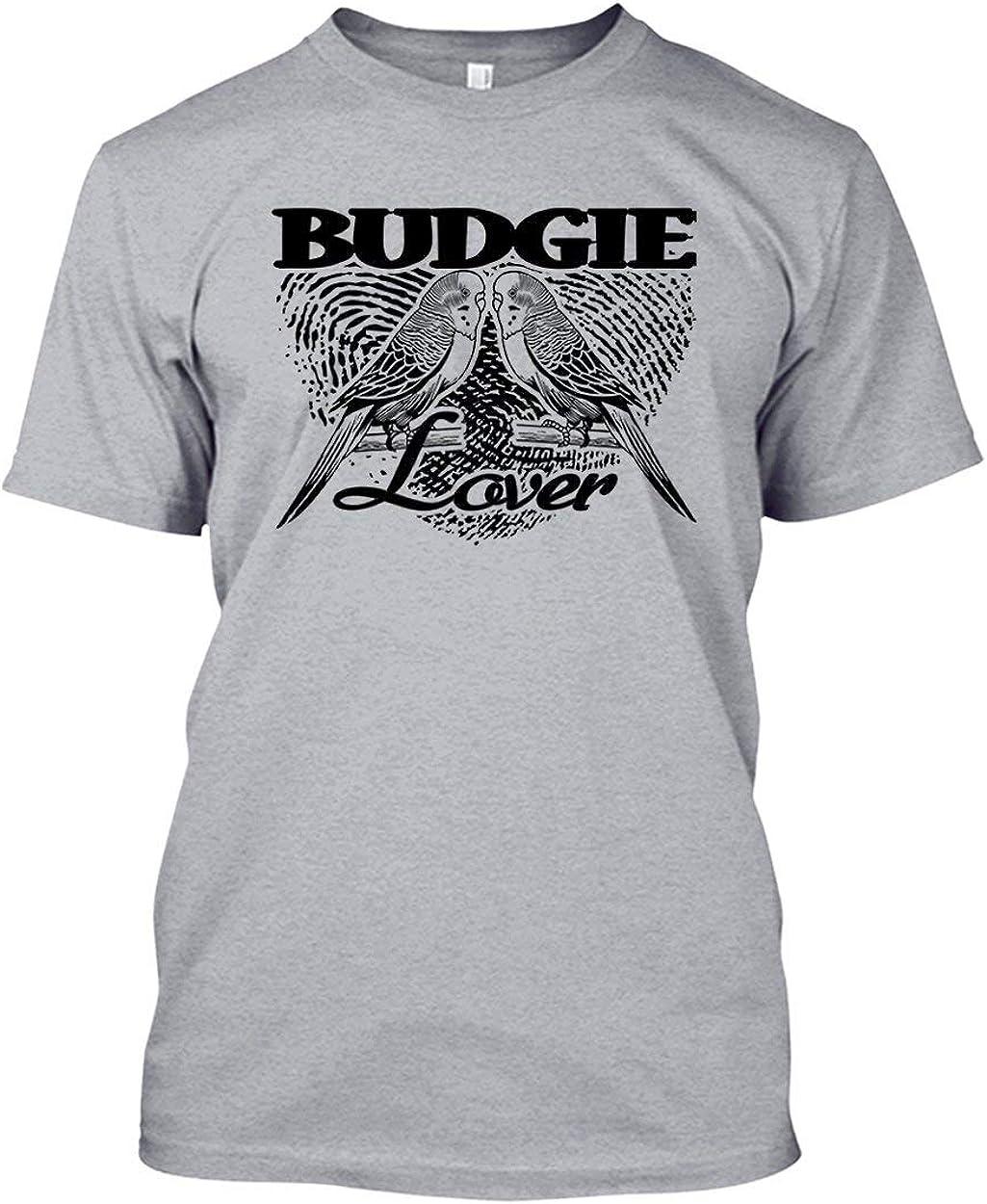 Budgie Digitally Printed White Standard T-Shirt