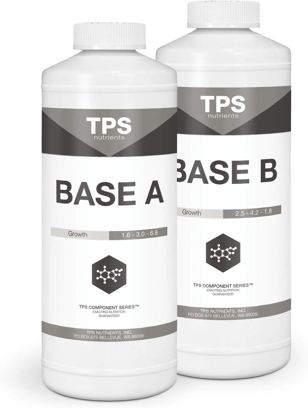 TPS Base A+B Set Complete Plant Growing Nutrient Formula, Quart (2 x 32 oz)