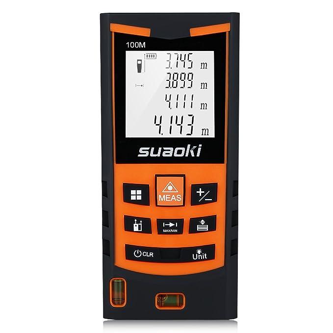 150 opinioni per Suaoki S9 100m Telemetro Distanziometro Laser Professionale Misuratore Distanza