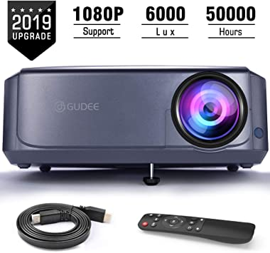 Amazon.com: GuDee - Proyector de vídeo Full HD para ...