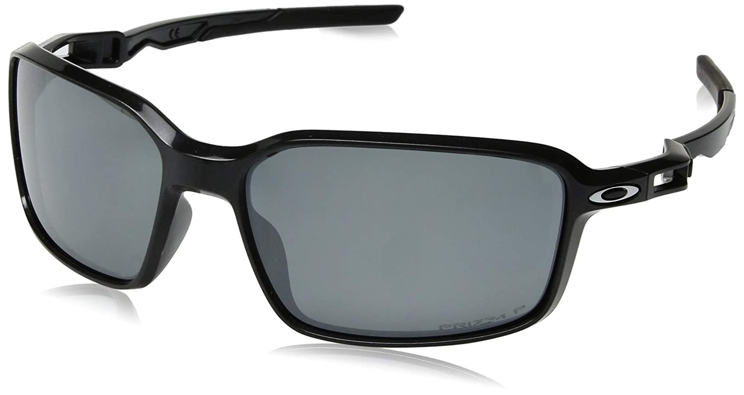 online store e4bd1 33b7b Amazon.com  Oakley Men s Siphon Sunglasses,OS,Crystal Black Prizm Ruby   Clothing