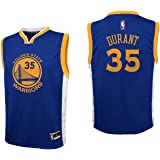 adidas NBA Golden State Warriors Kevin Durant Youth Boys Replica Player Road Jersey, Large (