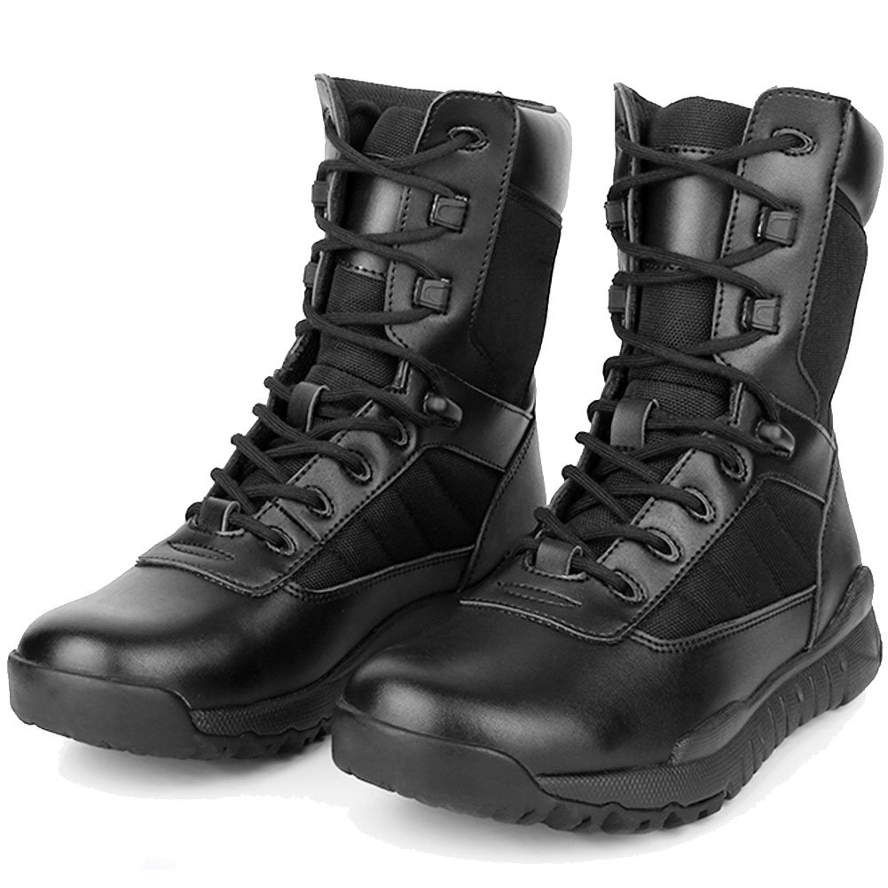 BE DREAMER Tatical Boots Men's Lightweight Military Combat Breathable Boots (8.5)