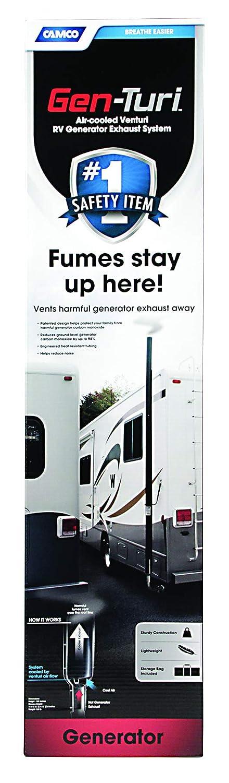 Camco 44461 Gen-Turi RV Generator Exhaust Venting System