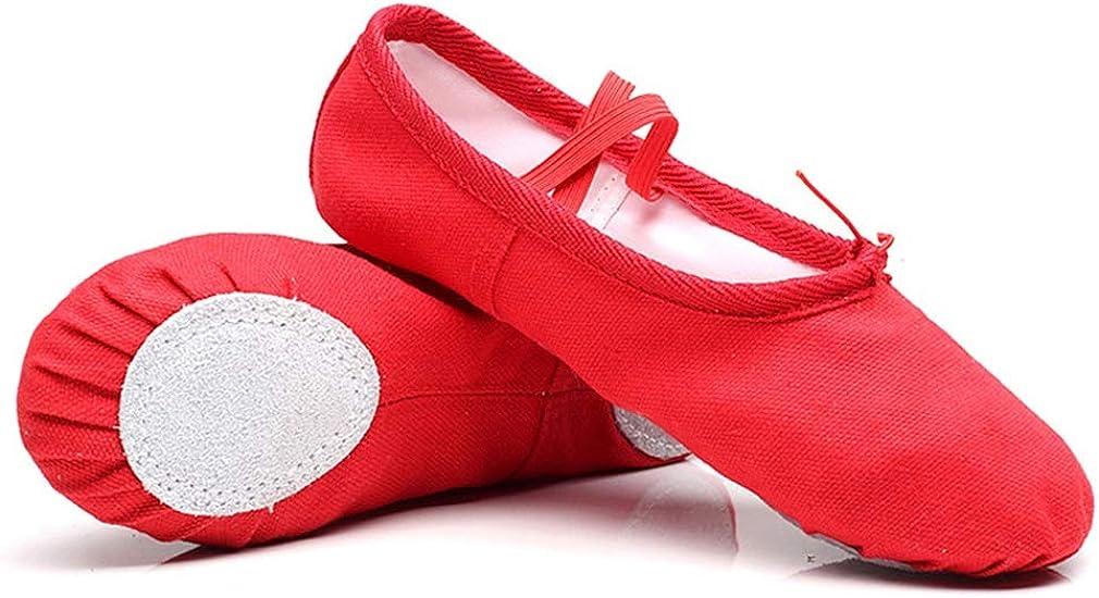 Xiang Ru Ballettschuhe Gymnastikschl/äppchen Tanzschuhe Ballettschl/äppchen Gymnastikschuh f/ür Damen und Kinder In Gr/ö/ßen 22-41