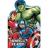 Epic Avengers Invitations (8 ct)